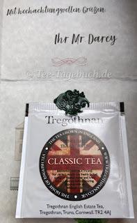 Ein (Tee-)Gruß von Mr. Darcy.