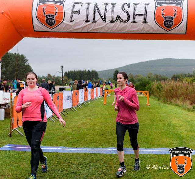 Banchory beast race - bloggers and the beast