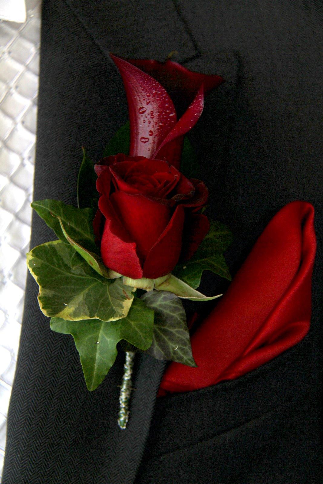 Flower Design Buttonhole Corsage Blog Groom S Special Black