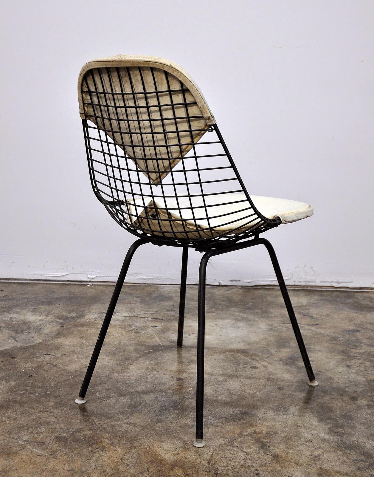 select modern charles ray eames bikini wire chair