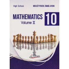 Oran Mathematics 10 High School 2 Kitap