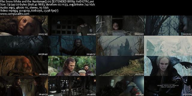 Blancanieves y la Leyenda del Cazador DVDRip Subtitulos Español Latino 2012
