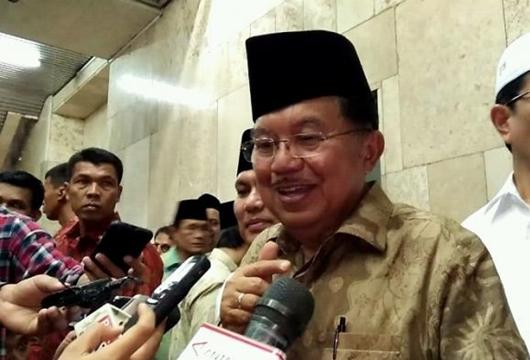 Masjid Malaysia Selalu Doakan Raja, JK: di Kita Kritik Presiden