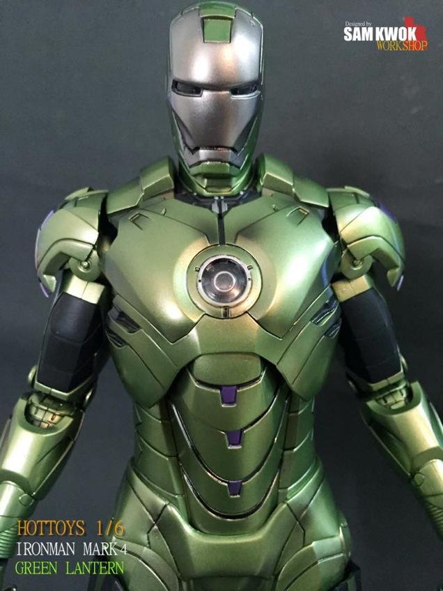 Iron Green Lantern