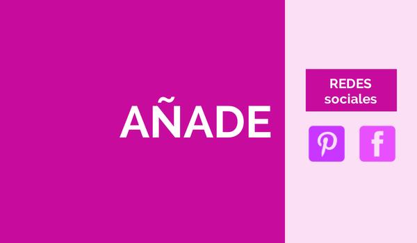 Anadir iconos redes sociales blog