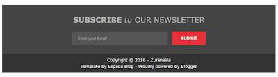 Cara Membuat Subscribe Box Keren di Blog
