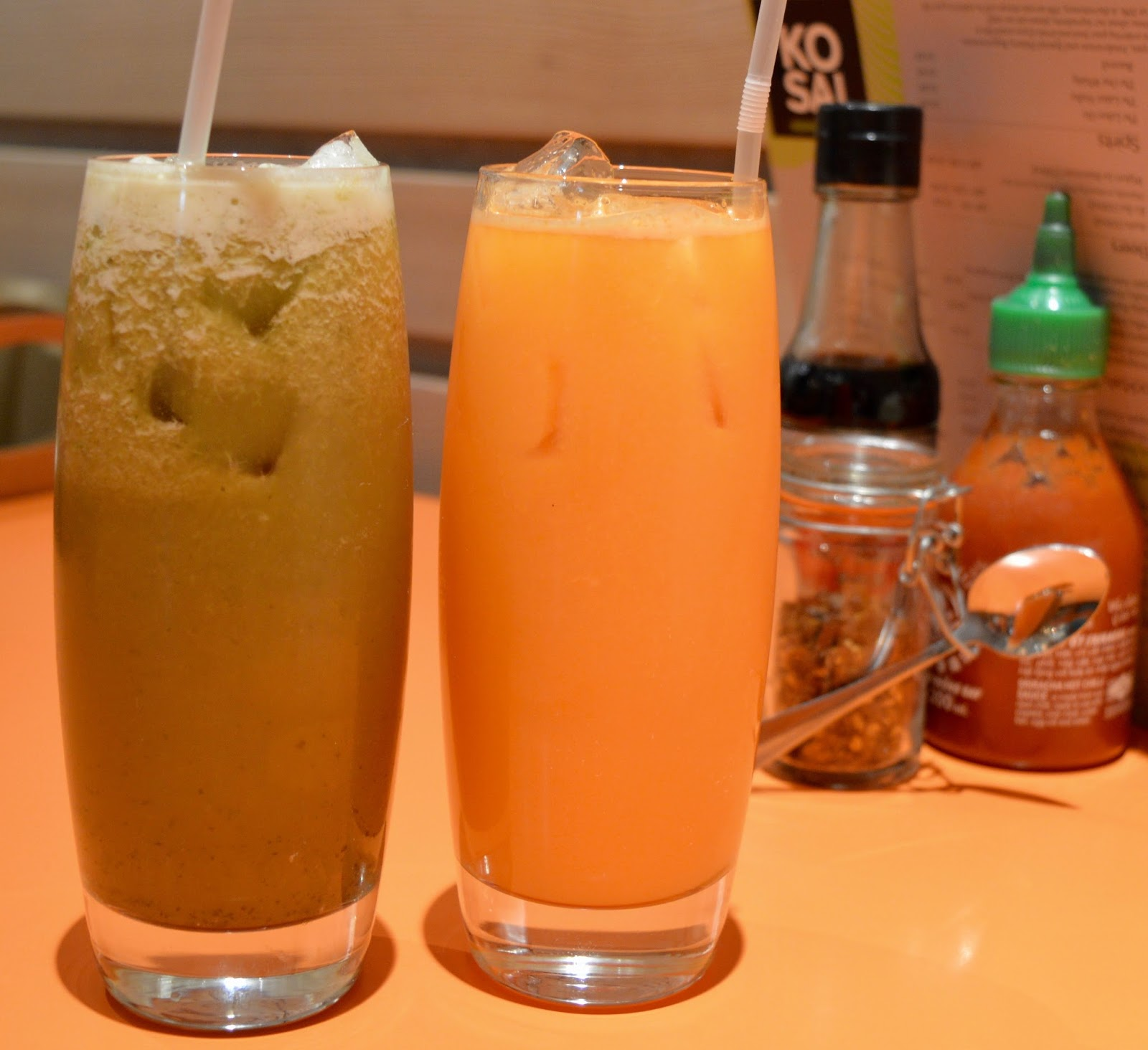 Ko Sai Newcastle - Fixed Price Lunch Menu | A Review - Ko Sai Fresh Juice