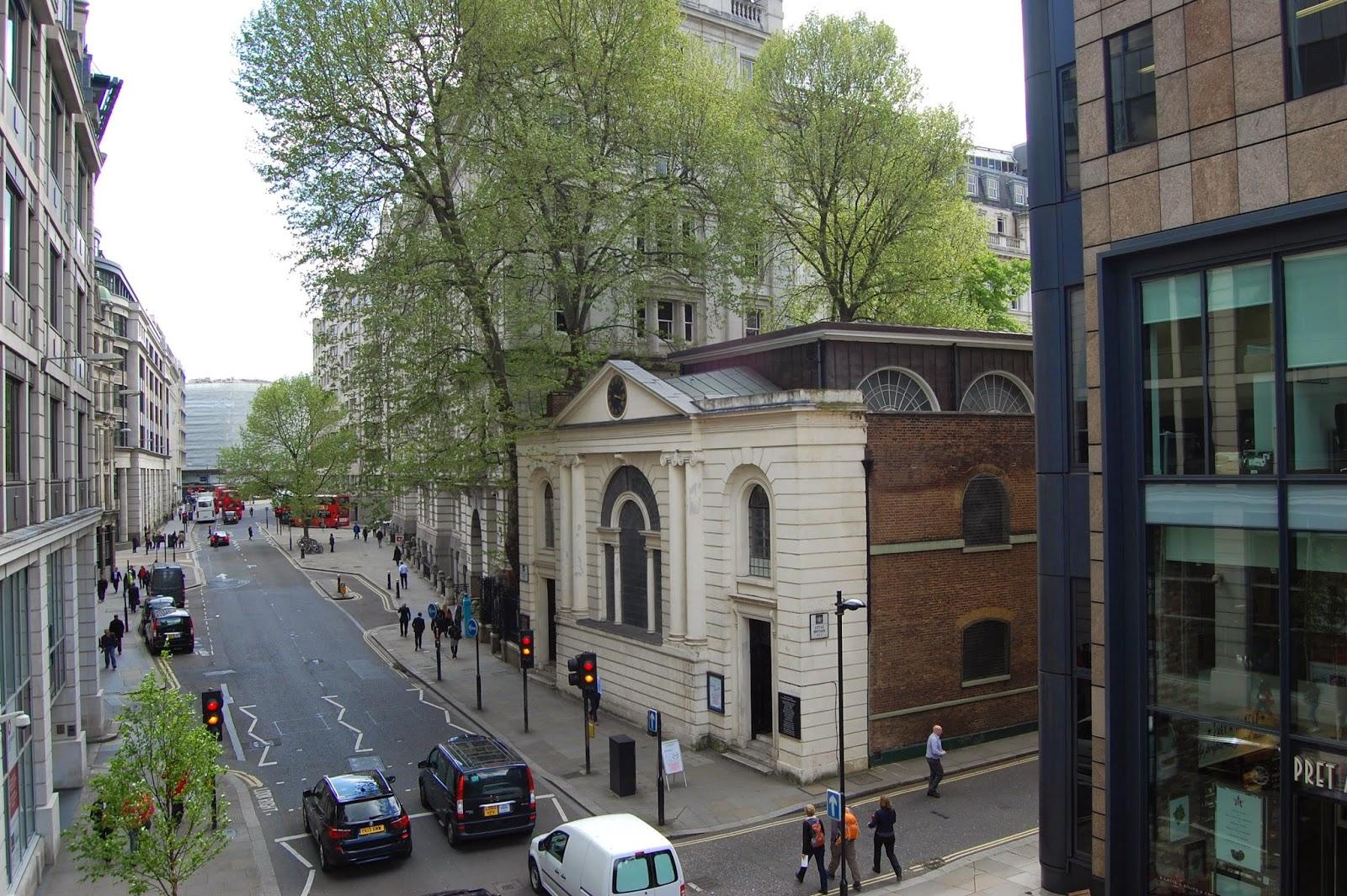 Aldersgate Street as it is today