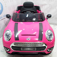 Mobil Mainan Aki Pliko PK8100N Mini Cooper Sport