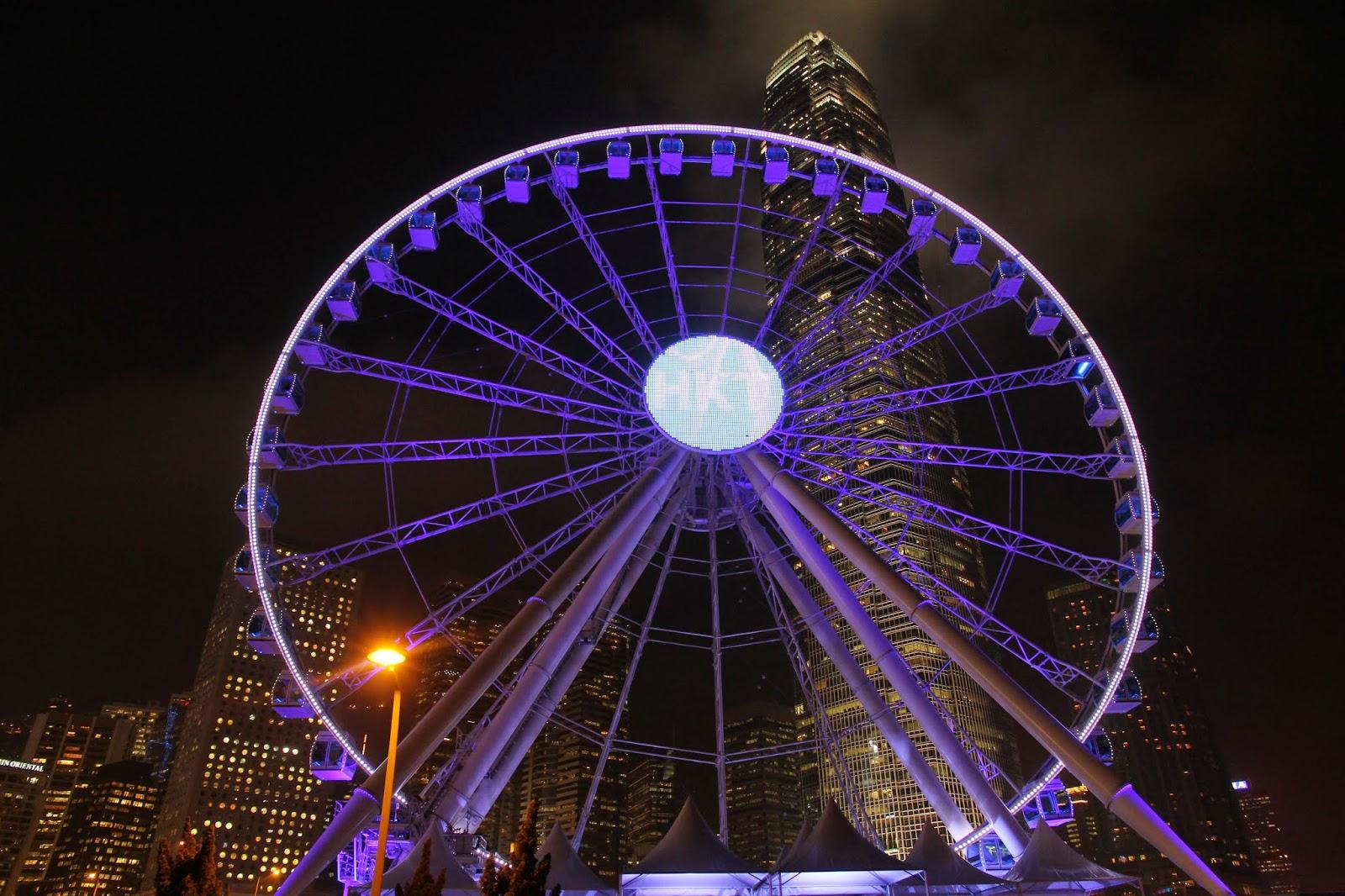 香港浪漫新景點 中環 海濱 摩天輪 The Hong Kong Observation Wheel 港島新地標 近九號,十號 碼頭 IFC 香港站 - 其他 ...