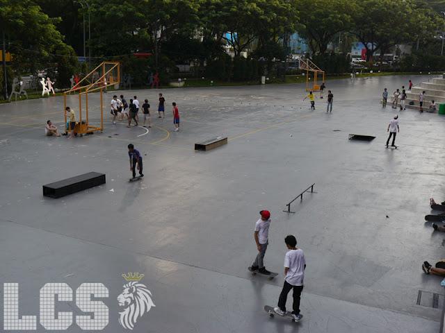 Lion City Skaters: *SCAPE skatespot