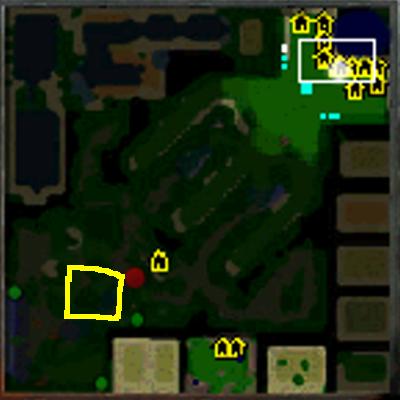 lokasi white tiger dalam permainan defend konoha