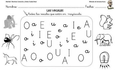 Material lectoescriptura imprimible | cabòries de la classe dels ...