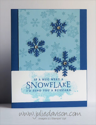 Stampin' Up! Beautiful Blizzard Card ~ 2018 Holiday Catalog ~ www.juliedavison.com
