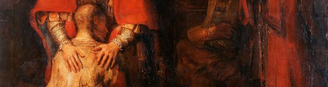 Męska i kobieca dłoń Miłosiernego Ojca u Rembrandta