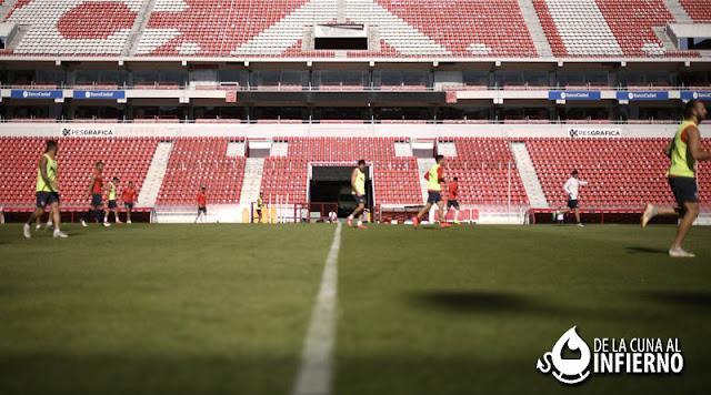 Palpitando la revancha ante Argentinos por la Copa de la Superliga con la baja confirmada de Bustos Concentrados-Independiente-AAAJ-Vuelta-2019