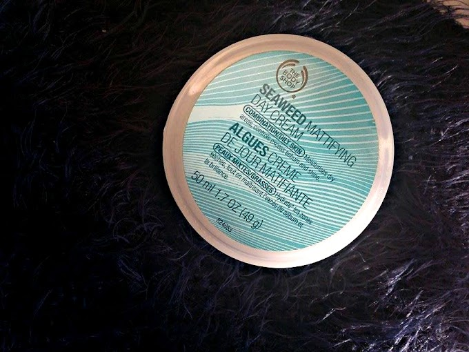 Seaweed Mattifying Day Cream by The Body Shop || Review
