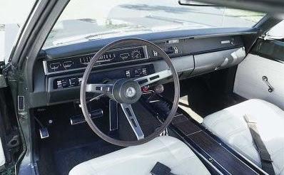 1968 PLYMOUTH ROAD RUNNER CUSTOM 2 DOOR HARDTOP - 170627   1968 Plymouth Road Runner Interior