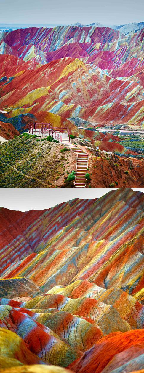 Painted Hills in Wheeler County, Oregon and 50+ Secret Places in America That Most Tourists Don't Know About