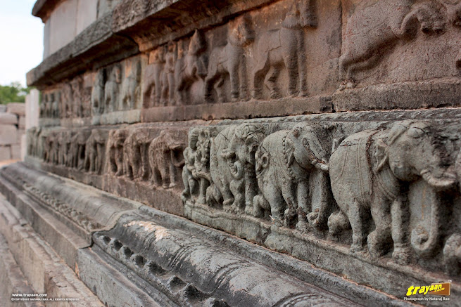 Mahanavami dibba or the great platform in Royal enclosure in Hampi, Ballari district, Karnataka, India
