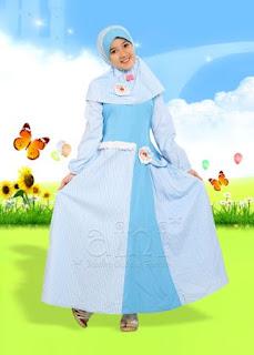 Baju Muslim Anak Perempuan Umur 14 Tahun