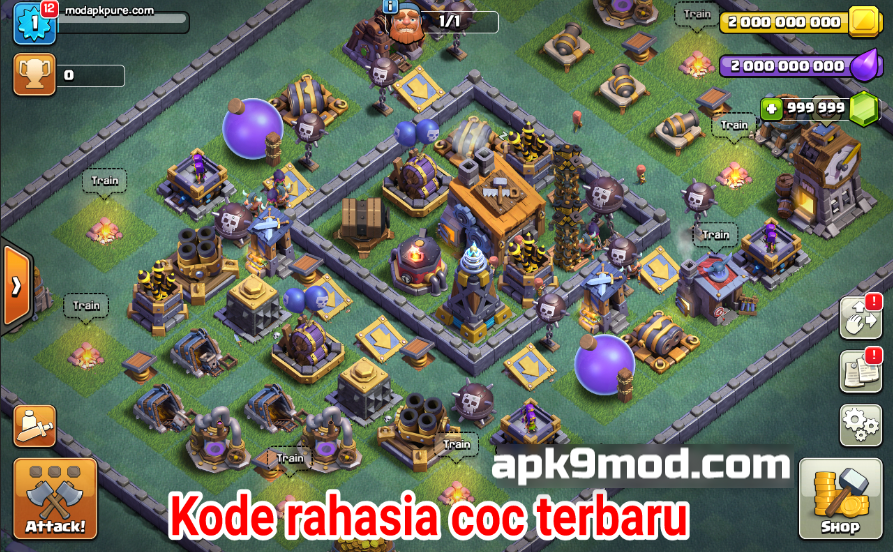 download clash of lights mod apk terbaru