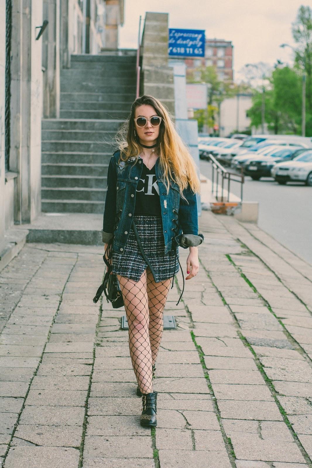 lace up jacket