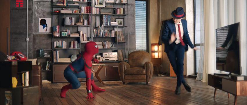 All Night Mina, canzone pubblicità Tim Con ballerino e Spider-Man | Giugno 2017