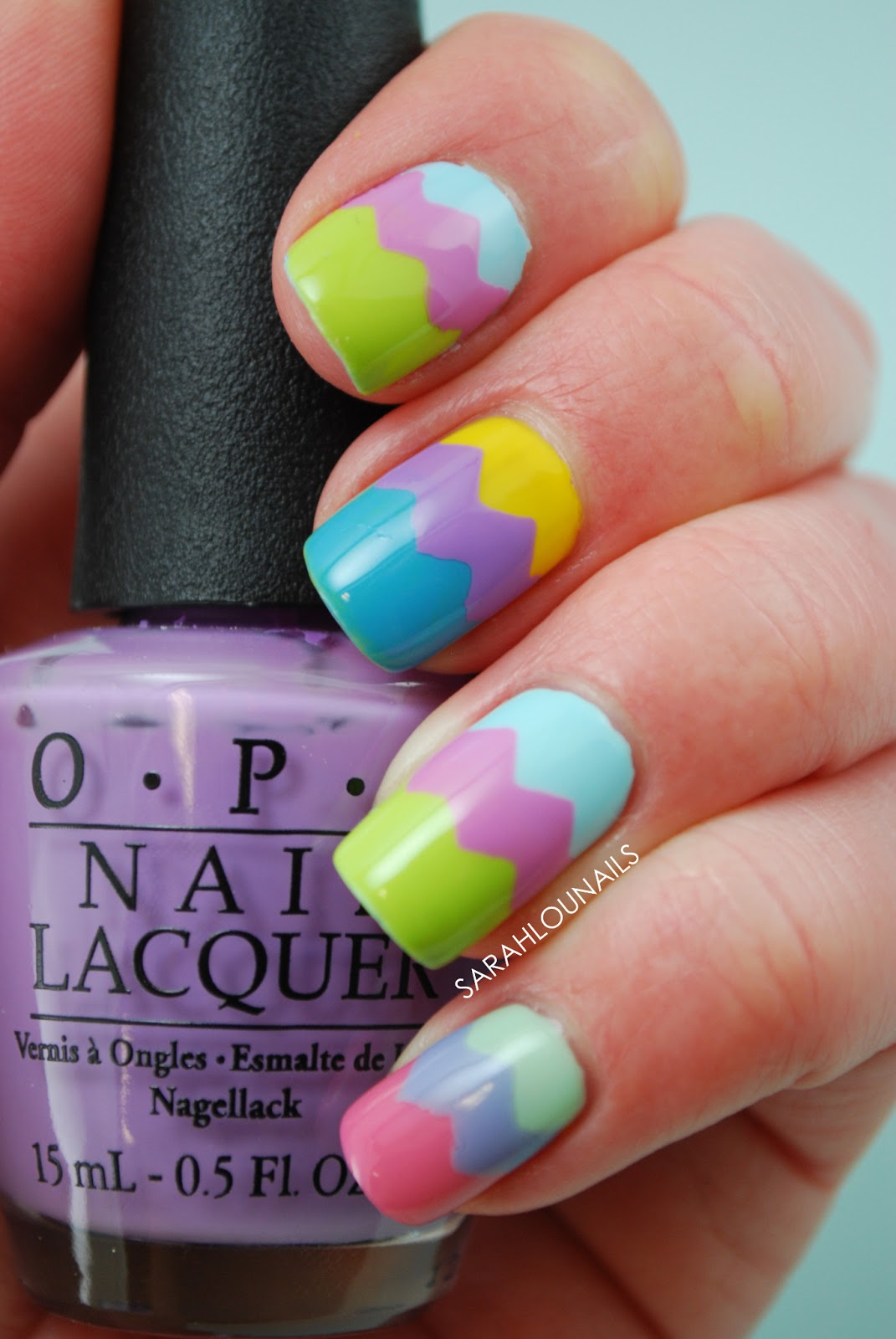 Sarah Lou Nails: Easter Egg Nails