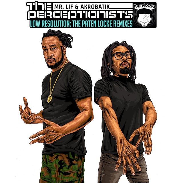 """Listen to """"Low Resolution"""" album by The Perceptionists on Bandcamp"""