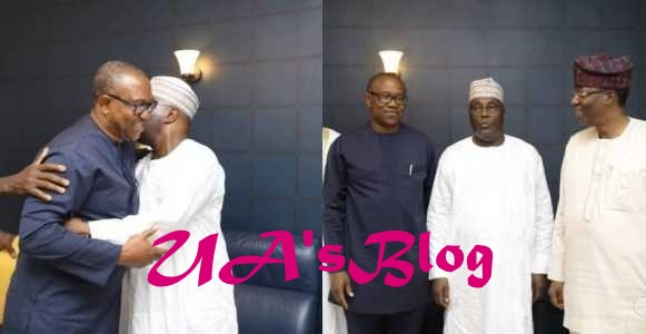 Ben Bruce, Dele Momodu & others congratulate Peter Obi on his emergence at Atiku's running mate for 2019