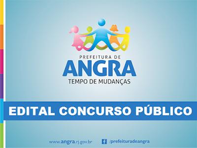 APOSTILA Prefeitura de Angra (RJ) Concurso Público edital 2015.
