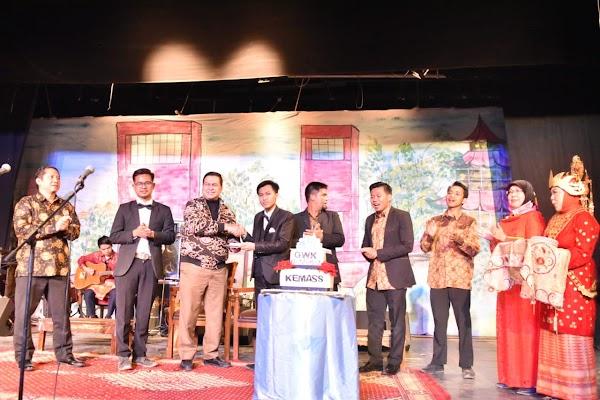 HUT Kemass ke-43,  Bapak Helmi Fauzi: Mari Kita Perkenalkan Kebudayaan Sumatra Selatan kepada Masyarakat Internasional