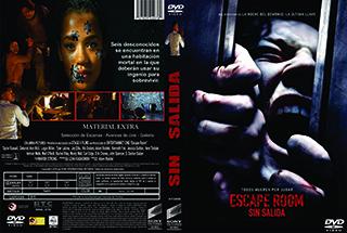 Escape Room - Sin Salinda - Cover - DVD - BluRay
