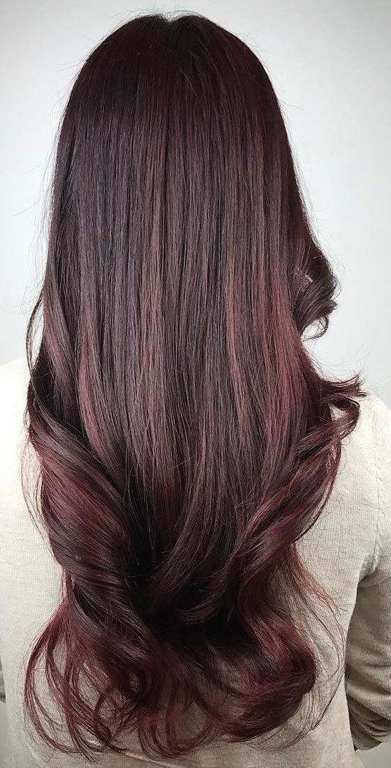 12 Hottest Mahogany Hair Color Highlights For Brunettes Hair