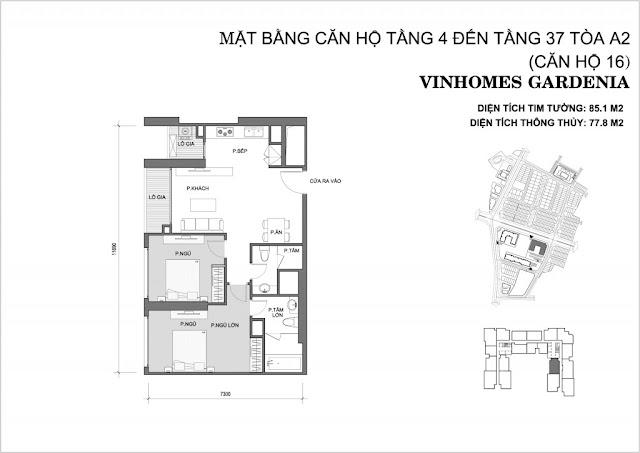 16 - Tòa A2 Vinhomes Gardenia