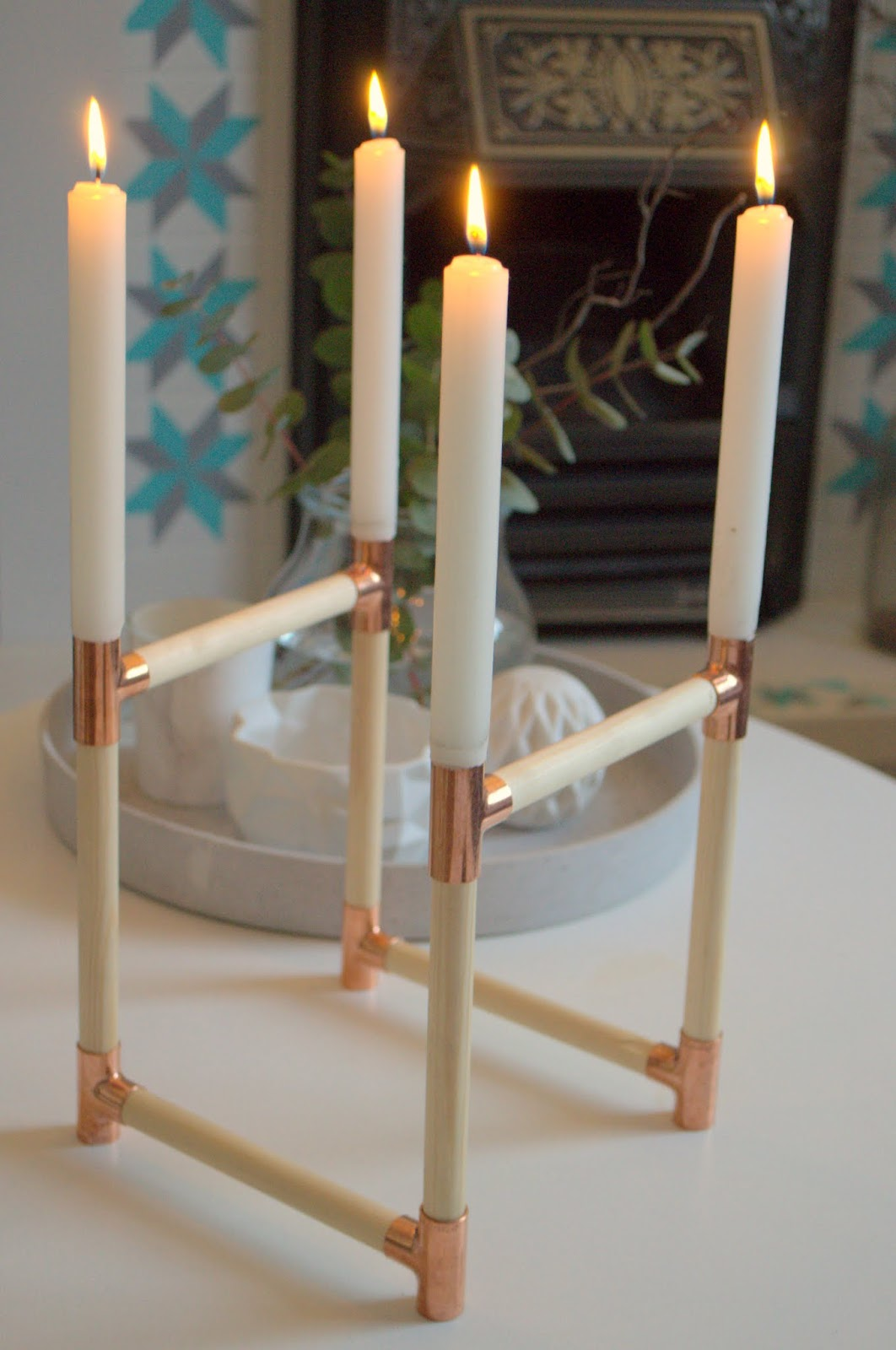 Nostalgiecat Diy Advent Candle Wreath
