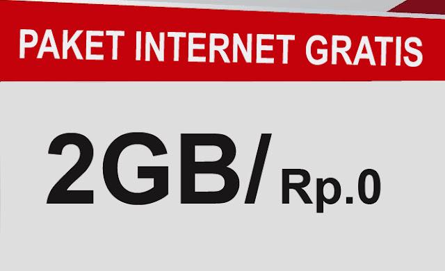 Paket Internet Gratis Telkomsel 2 GB Satu Bulan Dengan Rp.0 (paket Budling Khusus Telkomsel)