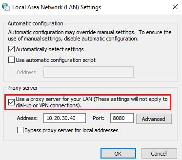 Cách thay đổi proxy trên trình duyệt