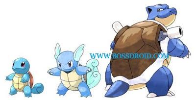 Cara Evolusi (Evolve) Pokemon pada Game Pokemon GO
