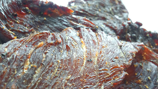 basil turkey jerky