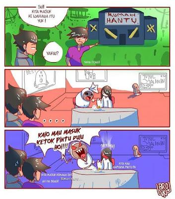 14 Komik Lucu 'Hantu' Ini Kocak Banget, Bikin Pocong Dkk Hilang Wibawa
