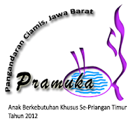 Dokumentasi Pelaksanaan Pramuka ABK Ciamis 2012