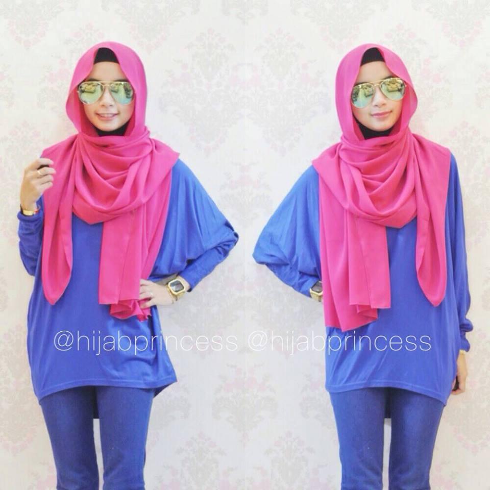 12 Model Jilbab Segi Empat Terbaru Simple Dan Modis Gaya Modern