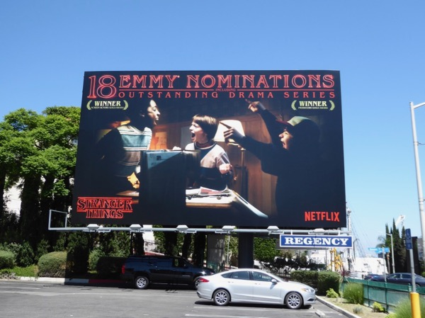 Stranger Things 2017 Emmy Nominations billboard