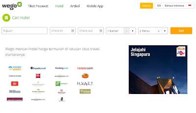 Pemesan Hotel Secara Online Di Wego