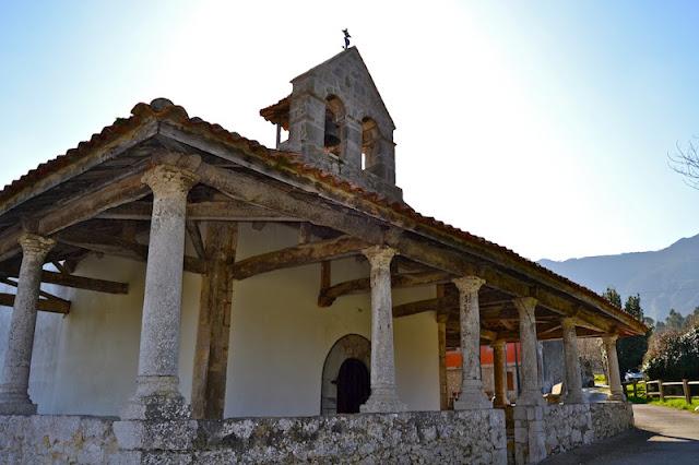 Resultado de imagen de foto de la iglesia de san roque del acebal