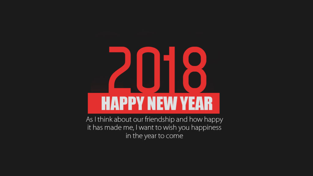 Happy New Year 2018 Status