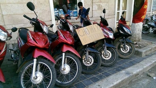 Giá dịch vụ cho thuê xe máy ở Hà Giang