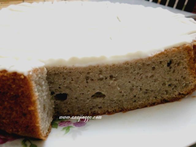 Resepi Kek Pisang Mudah Topping Cream Cheese - anajingga
